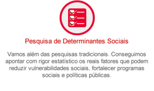 Pesquisa de Determinantes Sociais